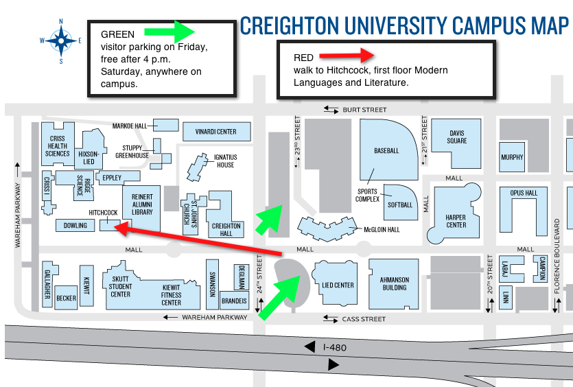 creighton university map with Goethe on Unl Map besides Danforth C us furthermore Loyoladininghall also Skuttstudentcenter also Maps.